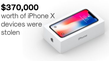 Apple iPhone X: Thieves Snatch 300+ iPhone X Worth $370,000