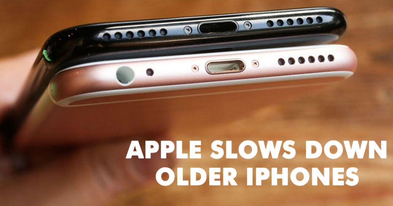Apple Admits It Slows Older iPhones - Here's Why