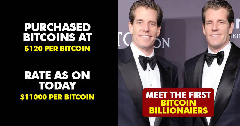 Meet The Twins Who Become The World's First Bitcoin Billionaires