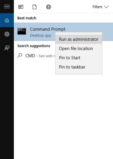 Open CMD As Admin