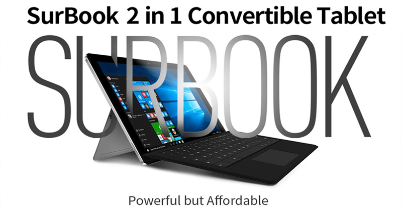 Chuwi SurBook 2 – Meet The Flagship 2-in-1 Tablet PC