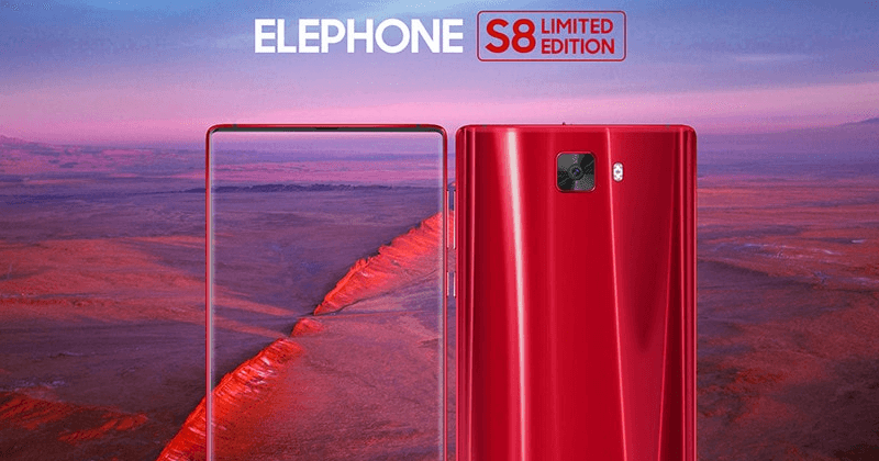 Elephone S8 - Bezel-Less Smartphone (Limited Edition)