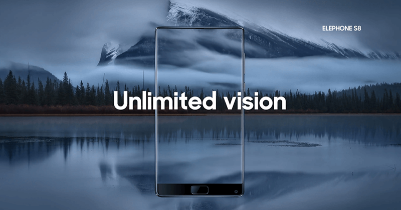 Elephone S8 - Meet The Most Affordable Bezel-Less Smartphone