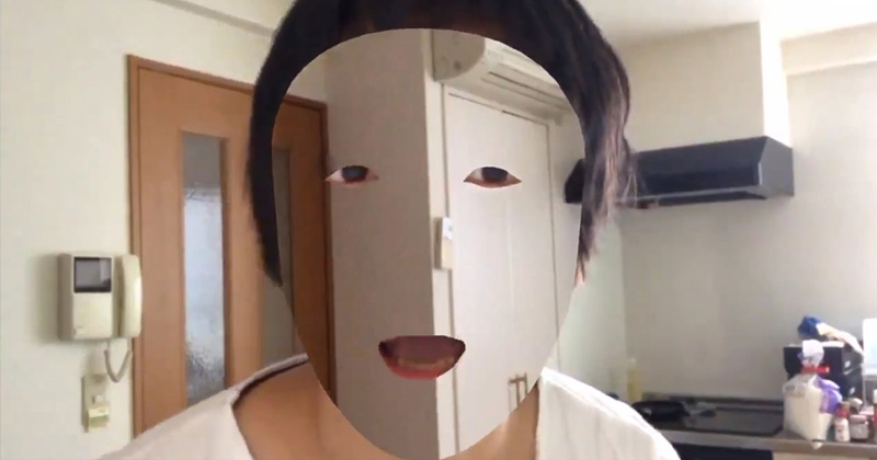 """Game Developer Gets """"Transparent Face"""" Using iPhone X Face ID"""