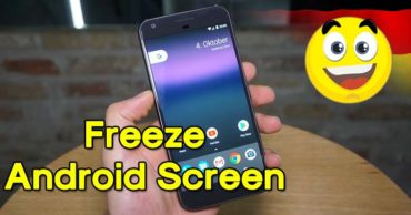 How To Disable The Touch Control And Freeze Android Screen