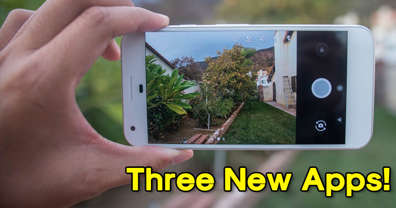 Google Launched Three New Photo Editing App For Android & iOS
