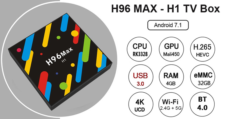 H96 MAX - H1 TV Box: Turn Your Television Into A Super Smart TV