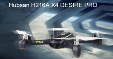Hubsan H216A X4 DESIRE PRO - Drone That Comes With 1080P WiFi Camera
