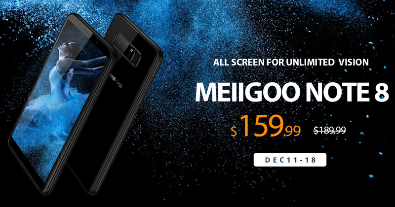 MEIIGOO NOTE 8 - All Screen For Unlimited Vision