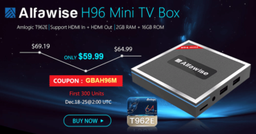 Meet The New Alfawise H96 TV Box – 2GB RAM And 16GB ROM