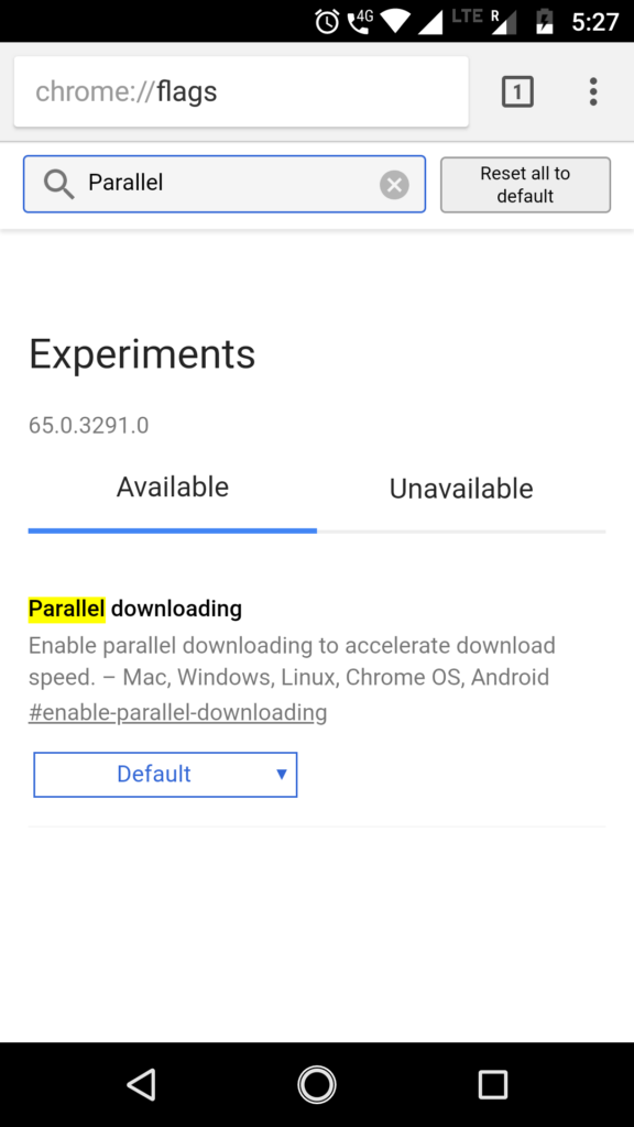 Parallel download