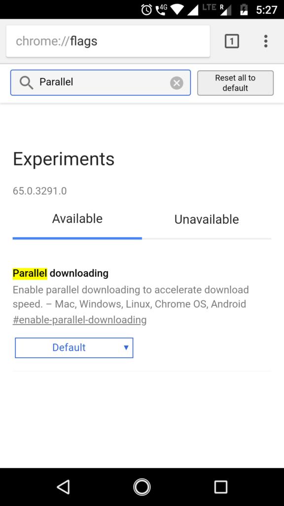 Parallel download