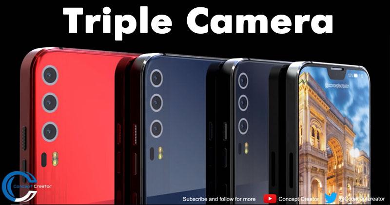 Huawei P11 X Concept Shows Triple Camera & iPhone Like Notch