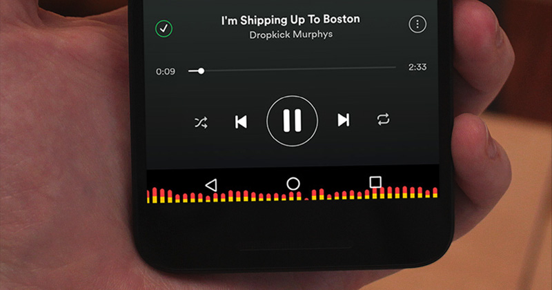 How To Get Audio Visualizer On Android's Navigation Bar