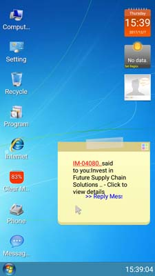 Windows 7 Interface On Your Android Device