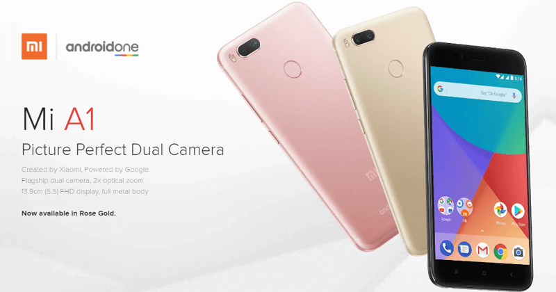 XIAOMI Mi A1 - Meet The Beast With Pure Android