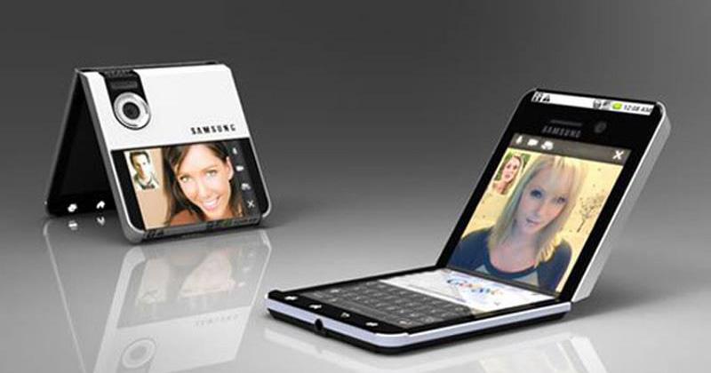Samsung Secretly Unveiled Their Foldable Smartphone