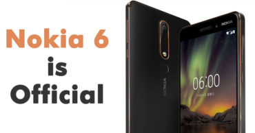 Nokia 6 (2018) Is Official and it's Awesome!