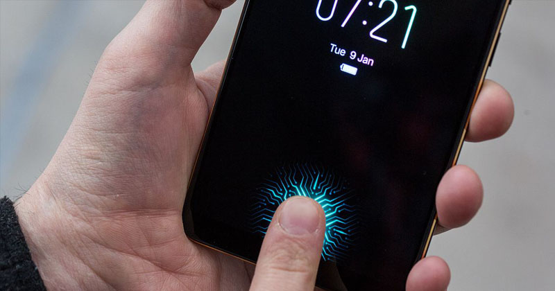 Meet The World's First Phone With An In-Display Fingerprint Sensor