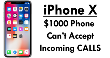 $1000 Smartphone Can't Accept Incoming CALLS