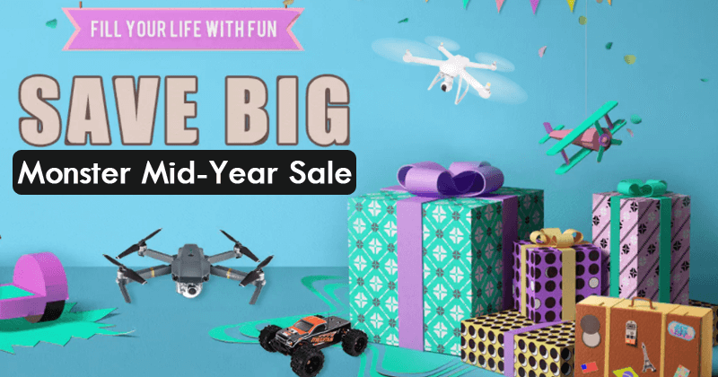 Don't Miss! The Great Gearbest Monster Mid-Year Sale