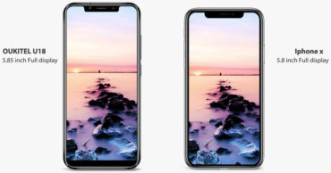 Oukitel U18 – Meet The Best Android Clone Of The iPhone X