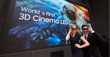 Samsung Announces World's First 3D LED Movie Screen