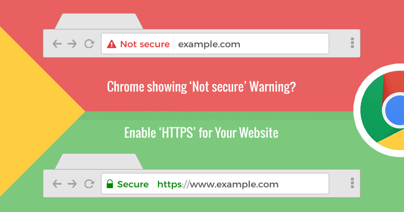 This New Version Of Chrome Marks All HTTP Websites As NOT SECURE