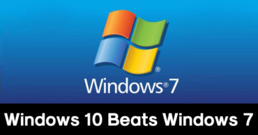 Windows 10 Finally Beats Out 8-Year-Old Windows 7