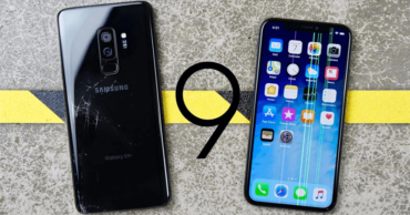 VIDEO: Galaxy S9+ Vs iPhone X Extreme Drop Test