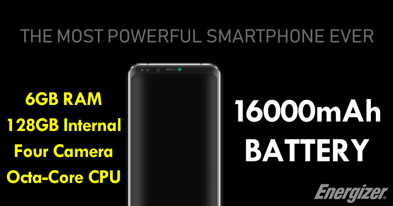 Meet The World's First Smartphone With A Huge 16000mAh Battery