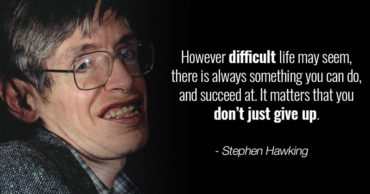 Stephen Hawking: Read Some of His Most Memorable Quotes