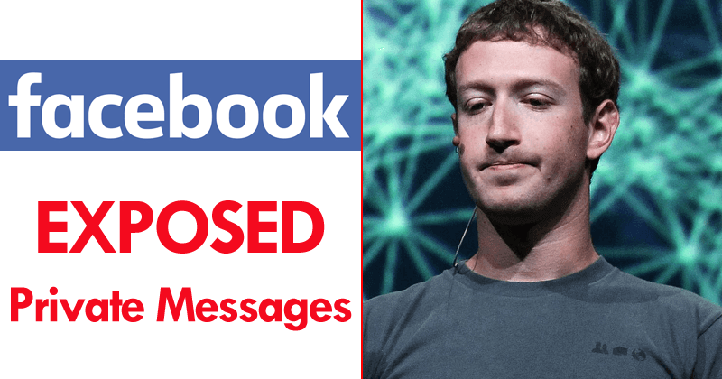 Facebook Confirms It Has EXPOSED Private Messages Too