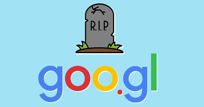 OMG! Google Is Shutting Down Its URL Shortening Service