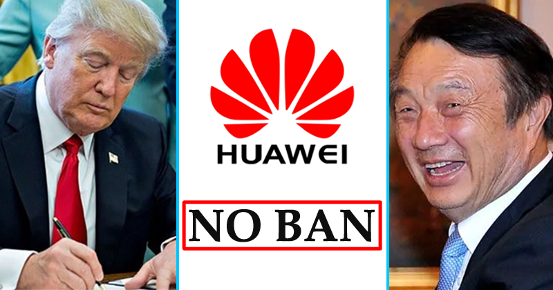 Good News! Huawei Is Unbanned