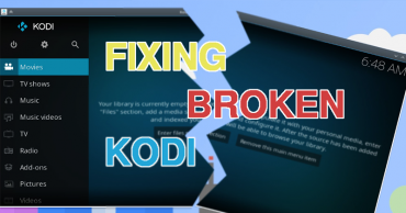 Kodi Search Not Working Error