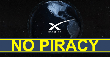 Don't Try to Pirate Movies or Download Torrents on Elon Musk's Starlink Broadband