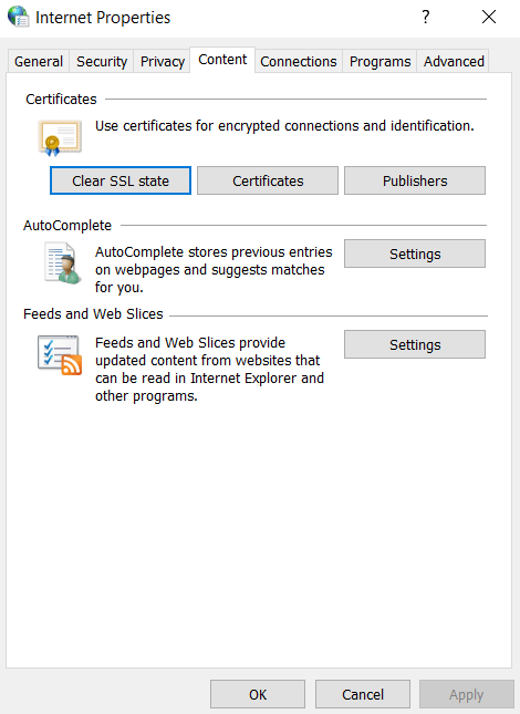 ERR_SSL_PROTOCOL_ERROR on Chrome