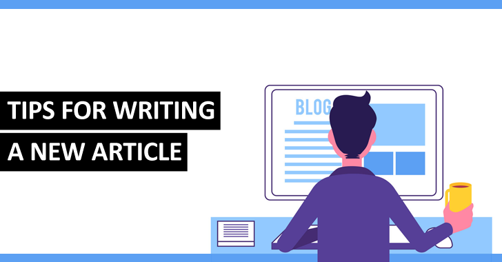 Don't know what to write about - Tips for writing a new article